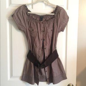 NWT Brown shirt/Tunic
